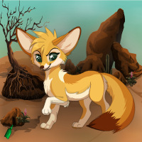 Fennec Fox Desert Escape